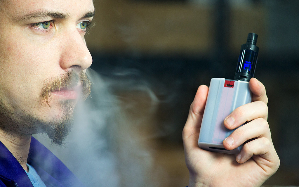 Electronic cigarette for cannabis